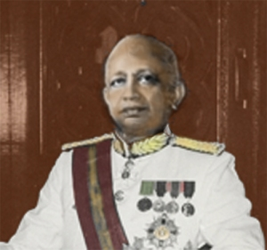 Sir Oliver Goonetilleke, Governor General of Ceylon 1954 - 1962