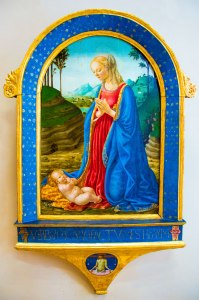 A painting of the Madonna and child from Ca' D'Oro's collection