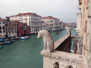 View of the Grand Canal from the Ca' D'Oro