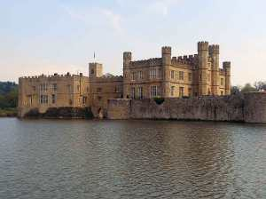 Leeds Castle where Joan and Eleanor were imprisoned